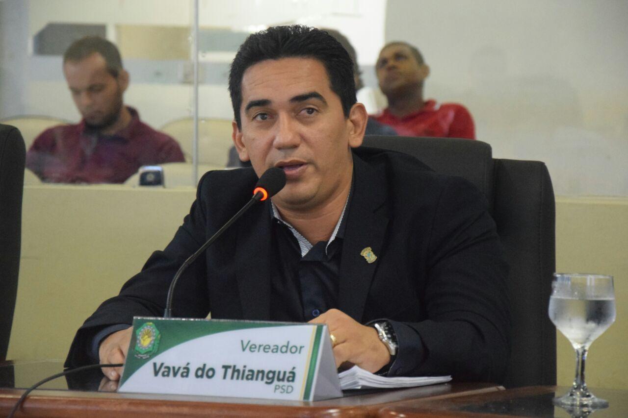 Aprovado Título de Cidadão Boavistense ao vereador Vavá do Thianguá