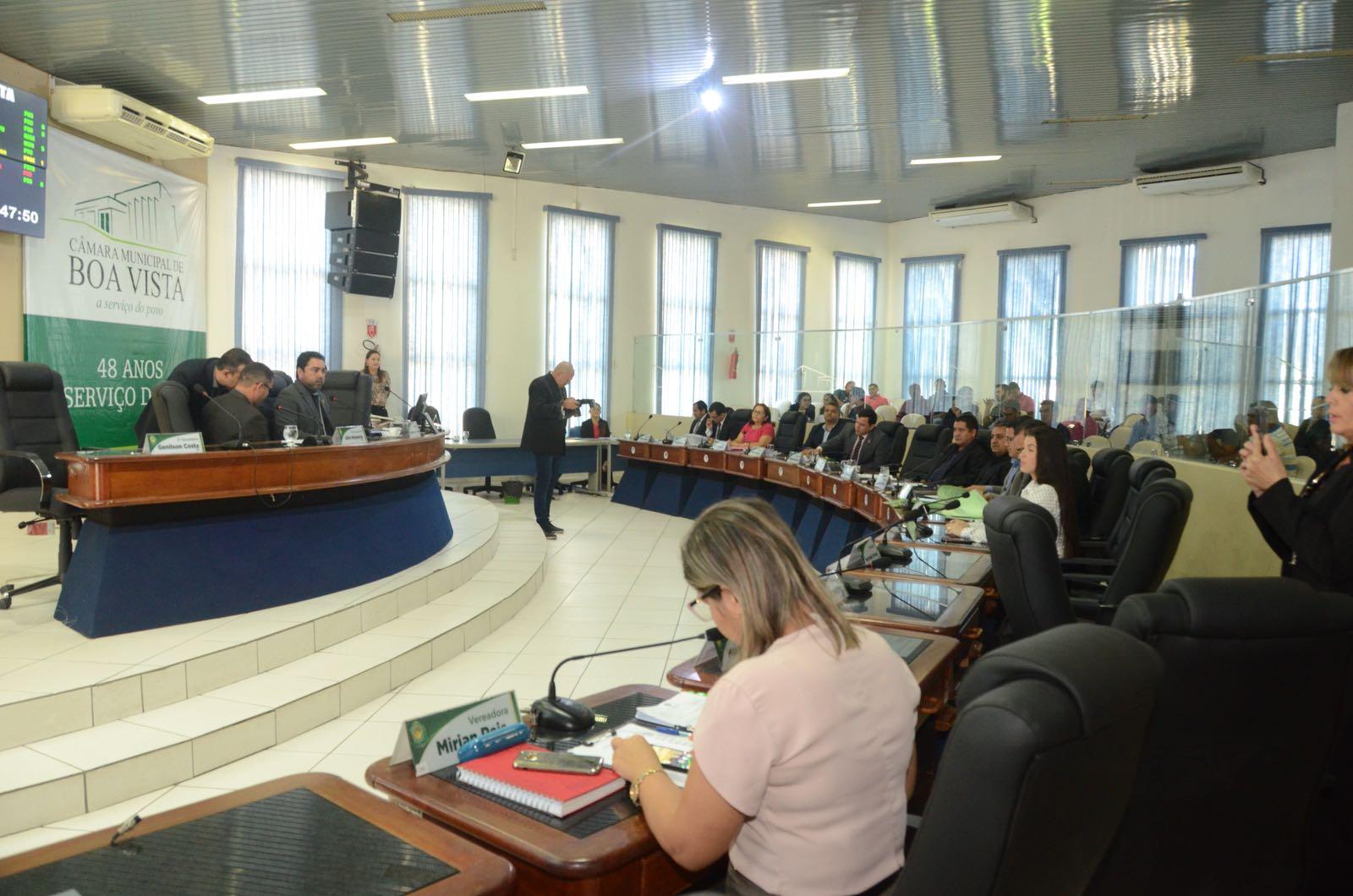 Câmara de Boa Vista aprova quatro projetos em 1º turno