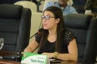 Câmara de Boa Vista aprova três projetos da vereadora Tayla Peres