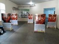 Câmara de Boa Vista recebe exposição fotográfica que retrata a violência contra a mulher