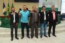 Câmara de Boa Vista recebe posse da nova diretoria do Sindicato dos Taxistas de Roraima