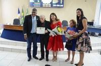 Câmara entrega honrarias ao empresário Ramiro da Silva e à artesã Altina Braga