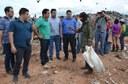 Comitiva de vereadores visita aterro sanitário de Boa Vista