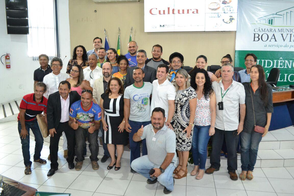 Em audiência na Câmara, representantes da Cultura pedem criação do Conselho Municipal de Cultura