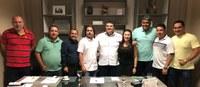 Ex-governador Anchieta Júnior visita a Câmara de Boa Vista