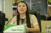 Plenário rejeita pareceres contrários e PLs de Tayla Peres seguem tramitando