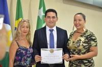 Vereador Vavá do Thianguá recebe o Título de Cidadão Boavistense
