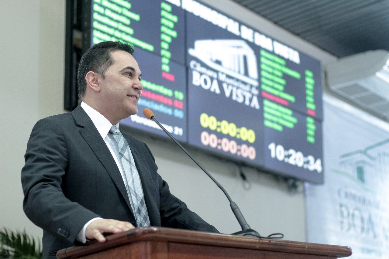 Vereadores aprovam Moção de Aplausos para Presidente da Assembleia Legislativa de Roraima