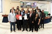 Vereadores aprovam Moção de aplauso à FECOMÉRCIO