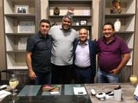 Vereadores recebem a visita do Diretor Executivo do INTERLEGIS