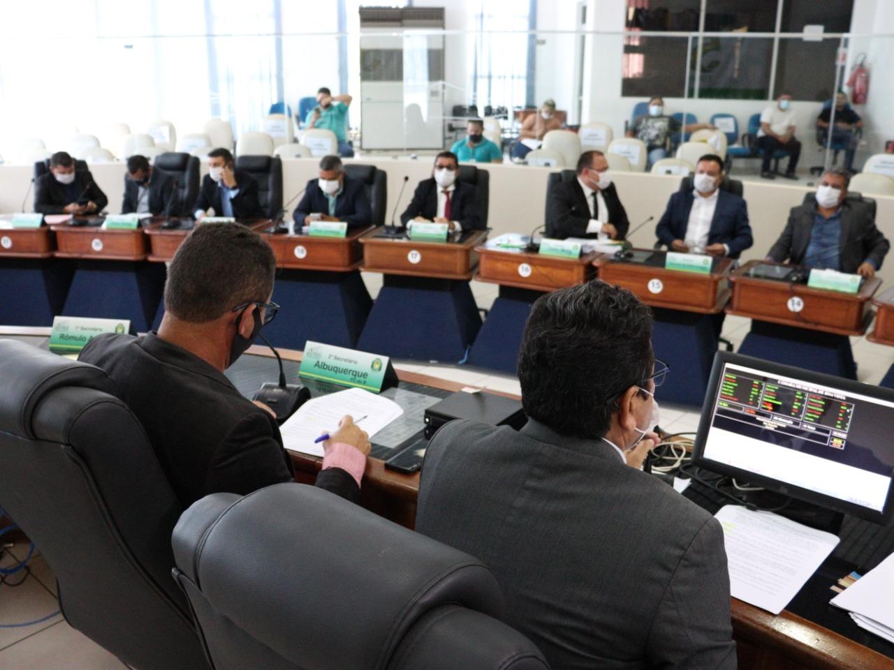 Vetos do Executivo Municipal entram em pauta na Câmara de Boa Vista